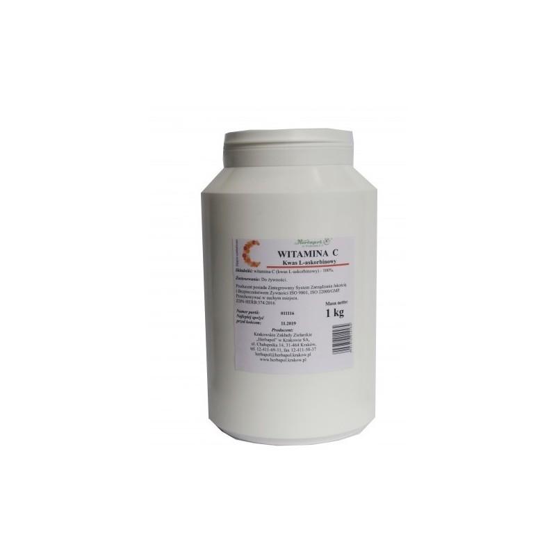 Witamina C kwas L-askorbinowy 1kg HERBAPOL