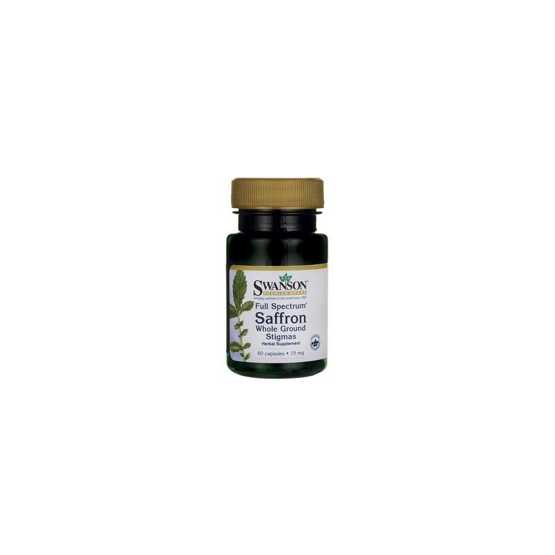 Szafran 15 mg 60 kaps SWANSON