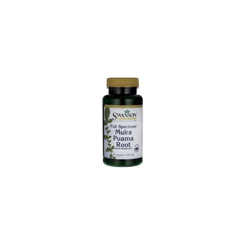 Muira Puama root 400 mg 90 kaps Swanson