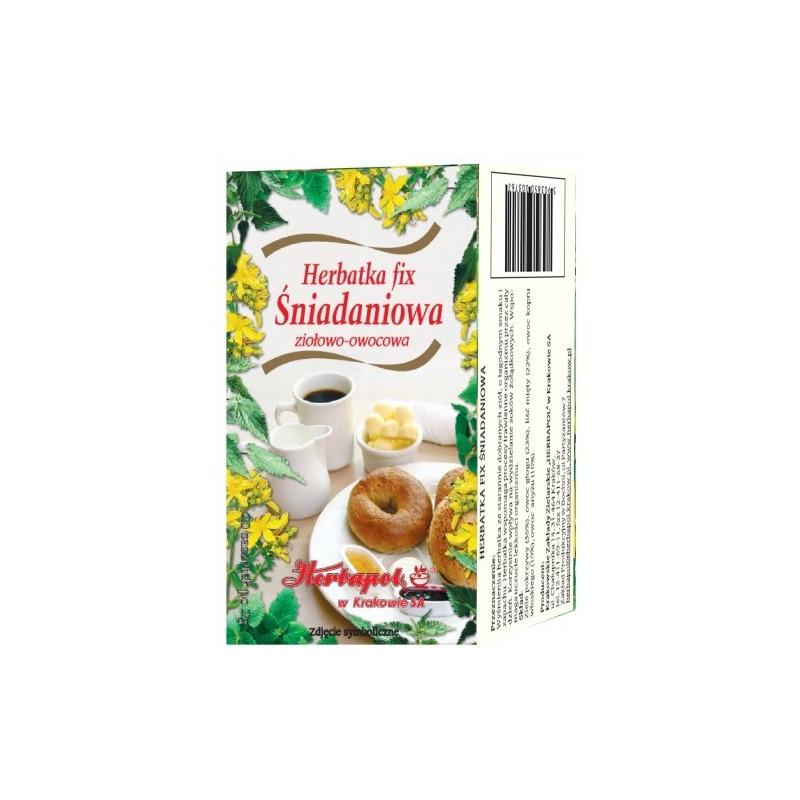 Herbata śniadaniowa fix 20*2g HERBAPOL