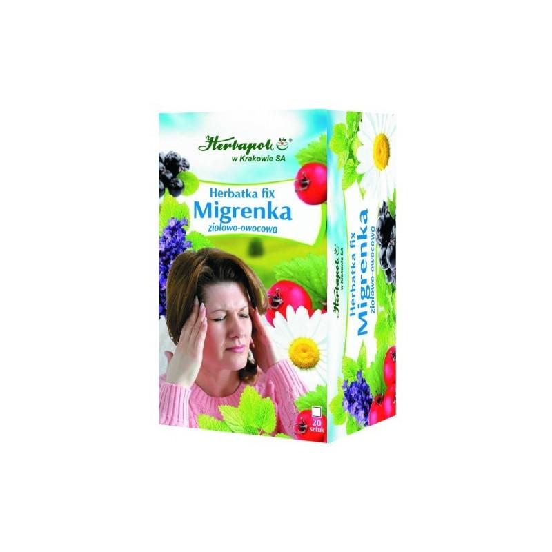 Herbata migrenka fix 20*2g HERBAPOL