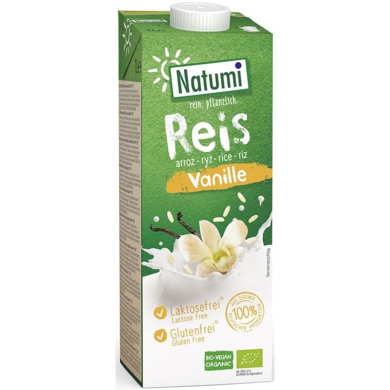 Napój ryżowo-waniliowy bezglutenowy bio 1l NATUMI