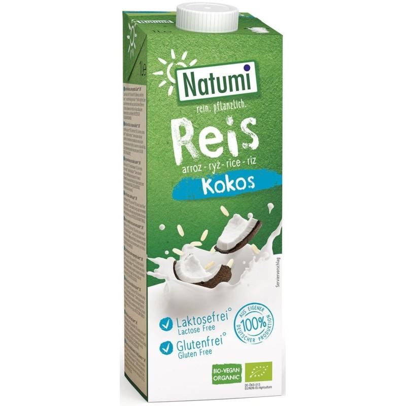 Napój ryżowo-kokosowy bio 1l NATUMI