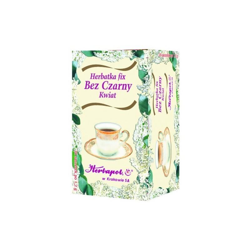 Herbata bez czarny kwiat 20x1g HERBAPOL