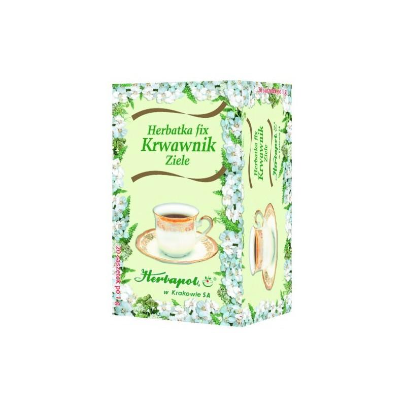 Herbata krwawnik ziele 20x1g HERBAPOL