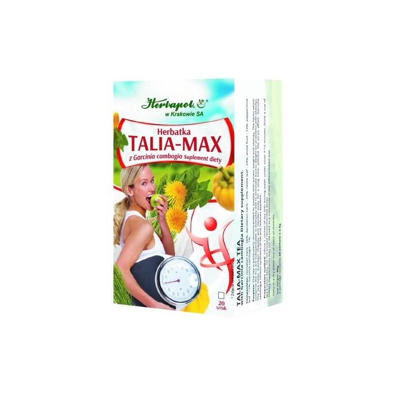 Herbata talia-max z Garcina Cambogia fix 20x2,5g HERBAPOL
