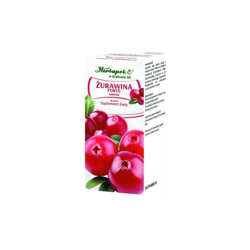 Tabletki żurawina forte 30szt. HERBAPOL