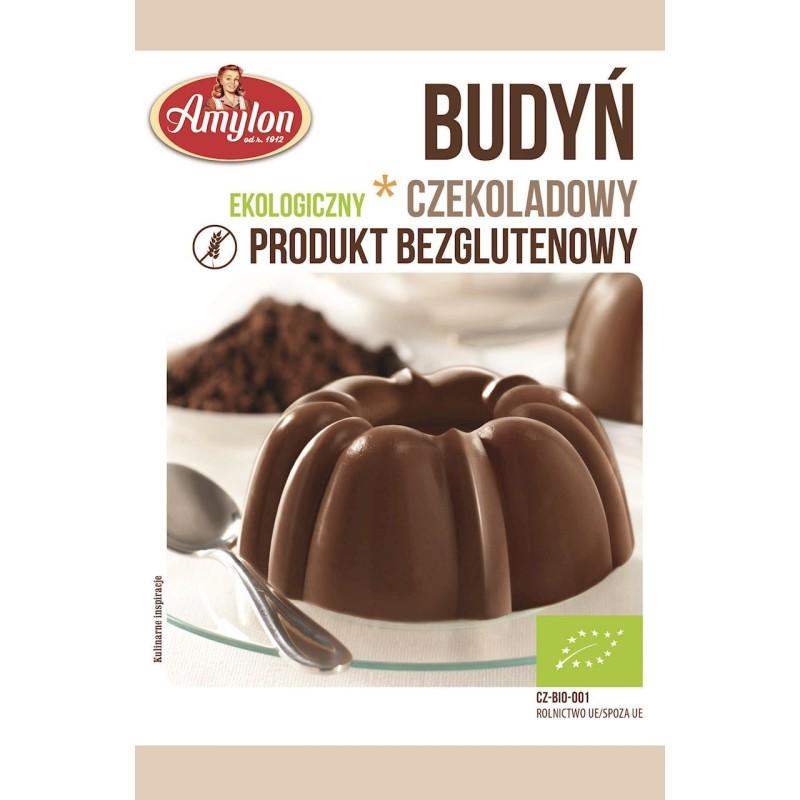 Budyń czekoladowy bio 40g AMYLON