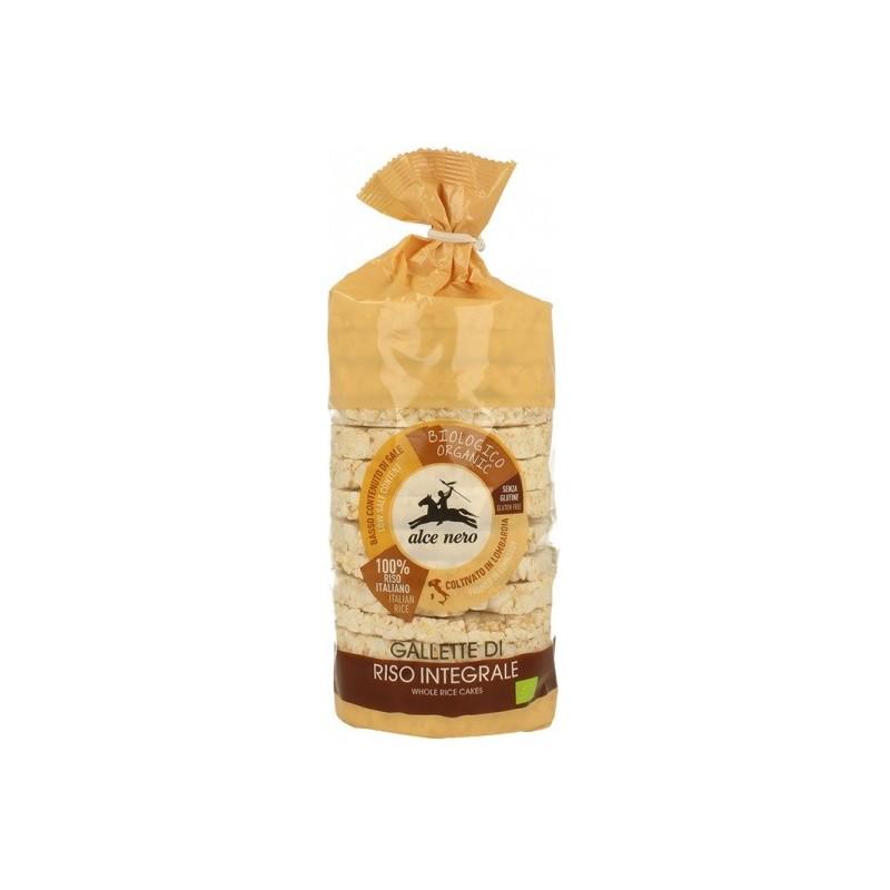 Wafle ryżowe pełnoziarnista bio 100g ALCE NERO