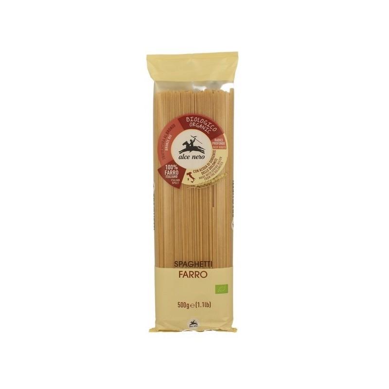 Makaron orkiszowy spaghetti bio 500g ALCE NERO