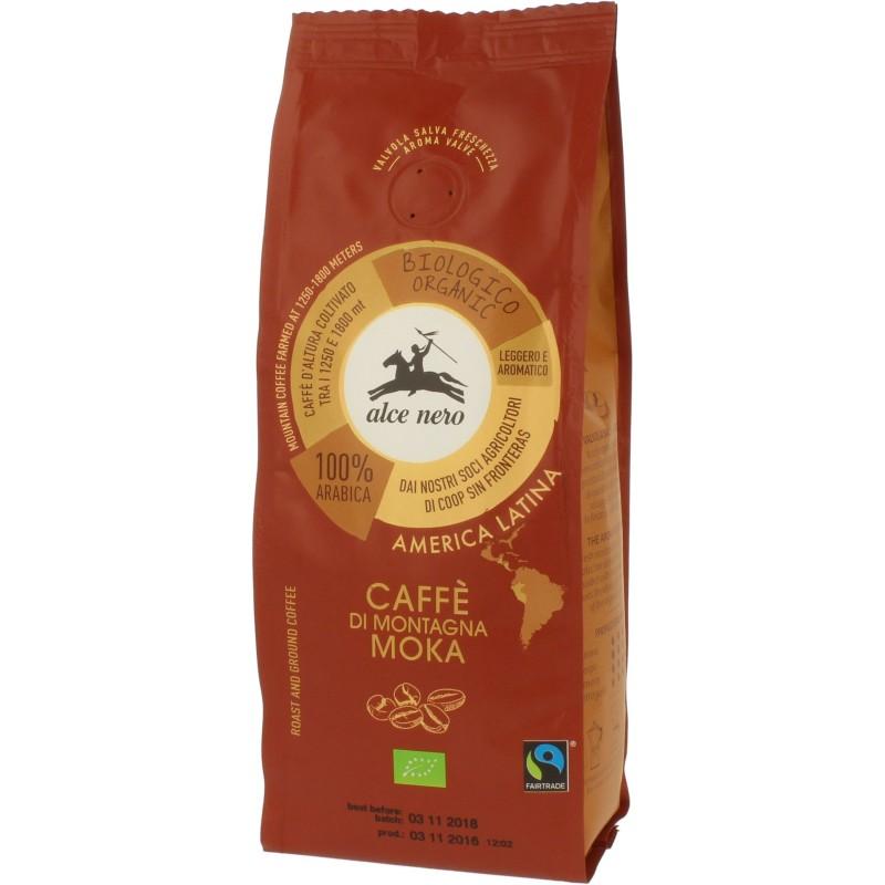 Kawa 100% Moka fair trade bio 250g ALCE NERO