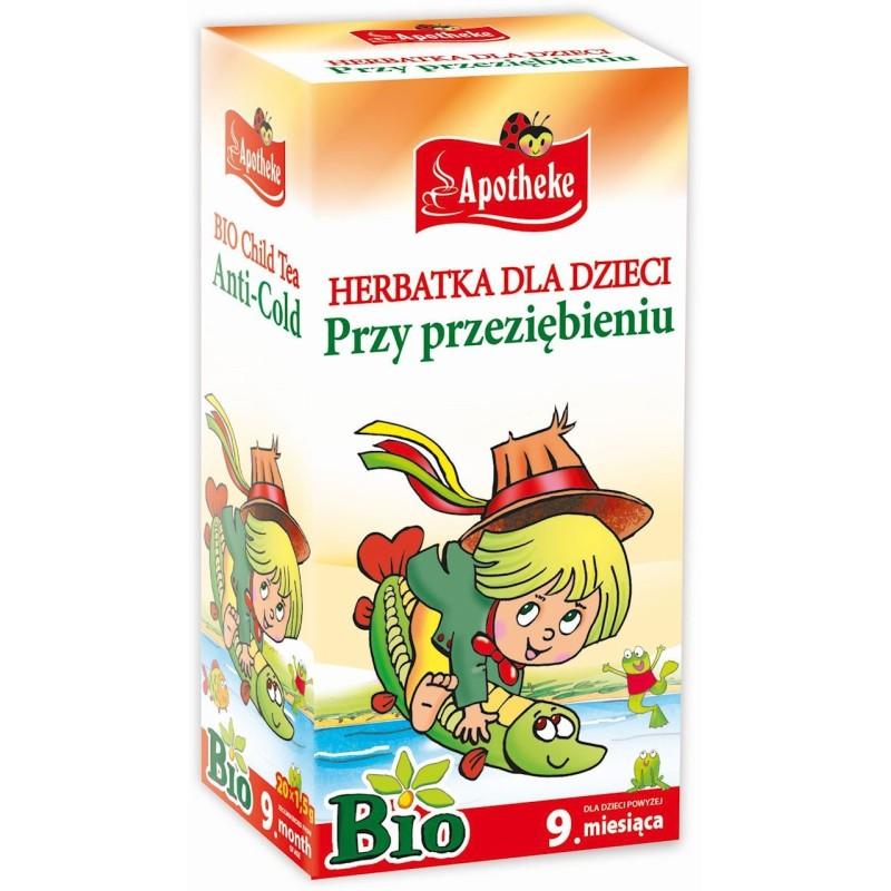 Herbatka dla dzieci - przy przeziębieniu bio 20x1,5g APOTHEKE