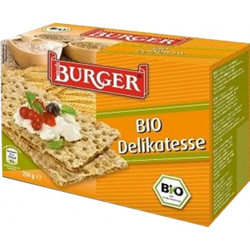 Pieczywo chrupkie żytnie razowe bio 250g BURGER
