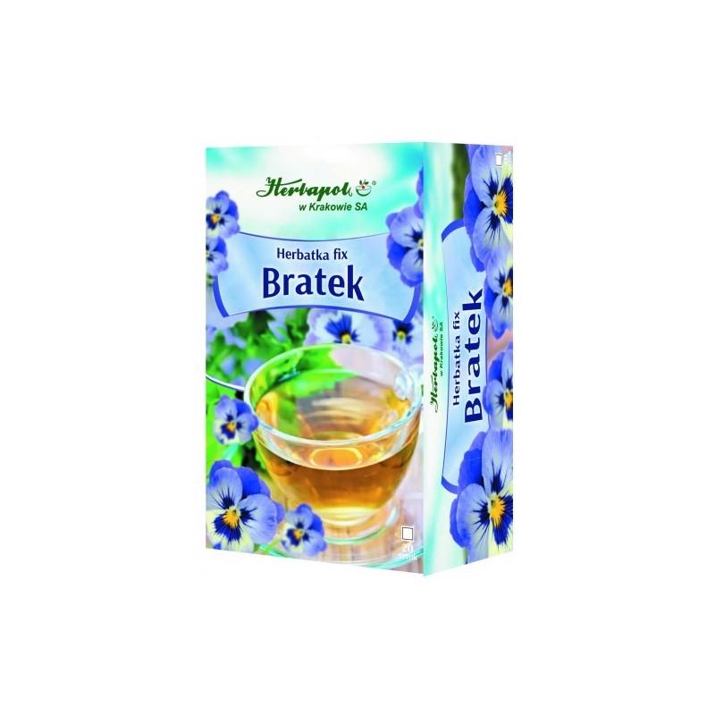 Herbata Bratek fix 20x1,5g HERBAPOL