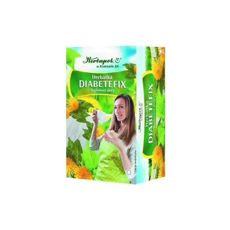 Diabetefix Herbatka 2g*20szt. HERBAPOL