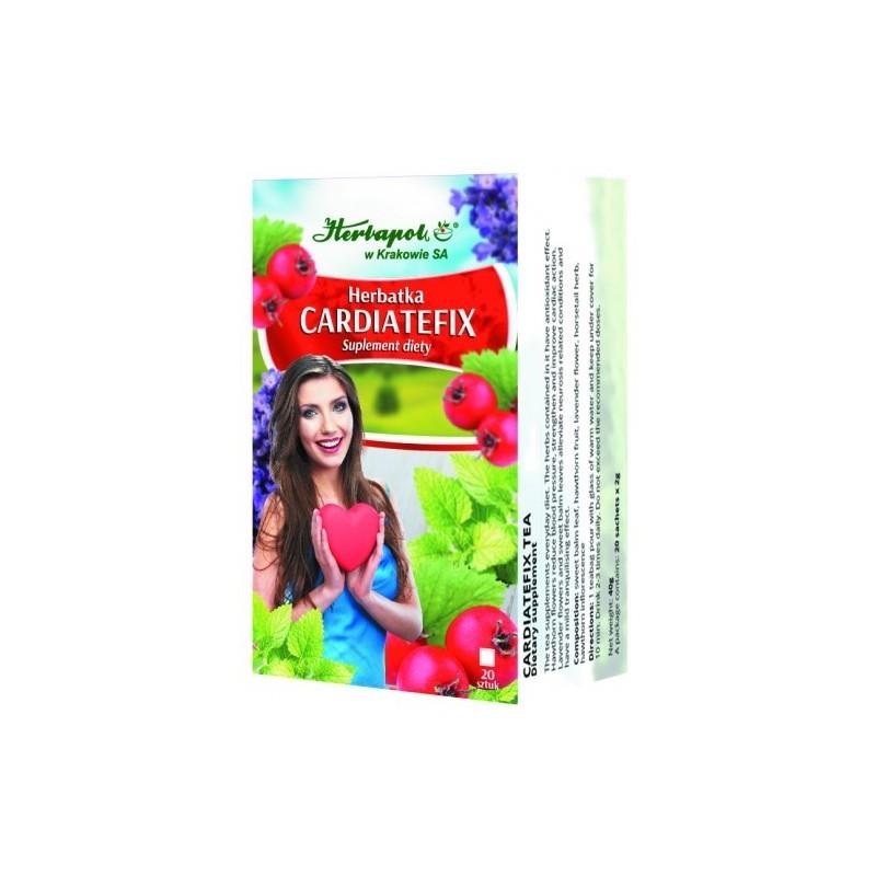 Herb. cardiatefix 2g*20szt. HERBAPOL