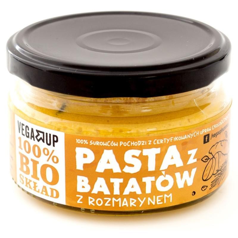 Pasta z batatów z rozmarynem BIO 190g VEGA UP