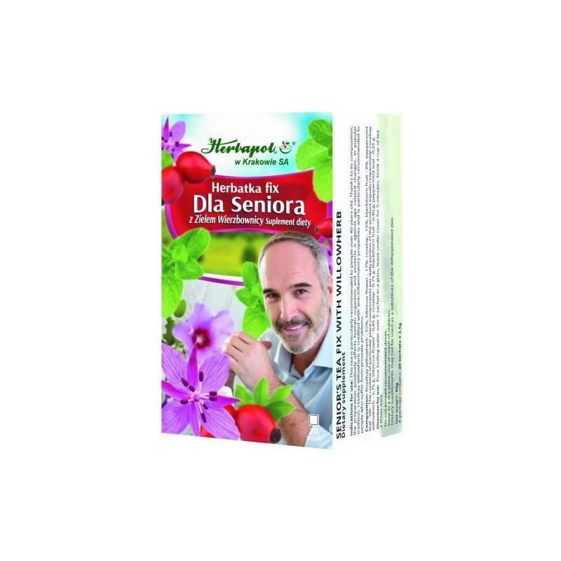 Herb. dla seniora 2,5g*20szt. HERBAPOL