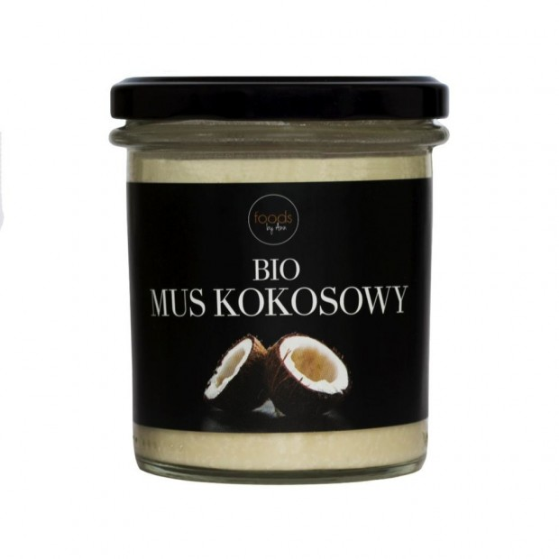 BIO mus kokosowy FOODS BY ANN