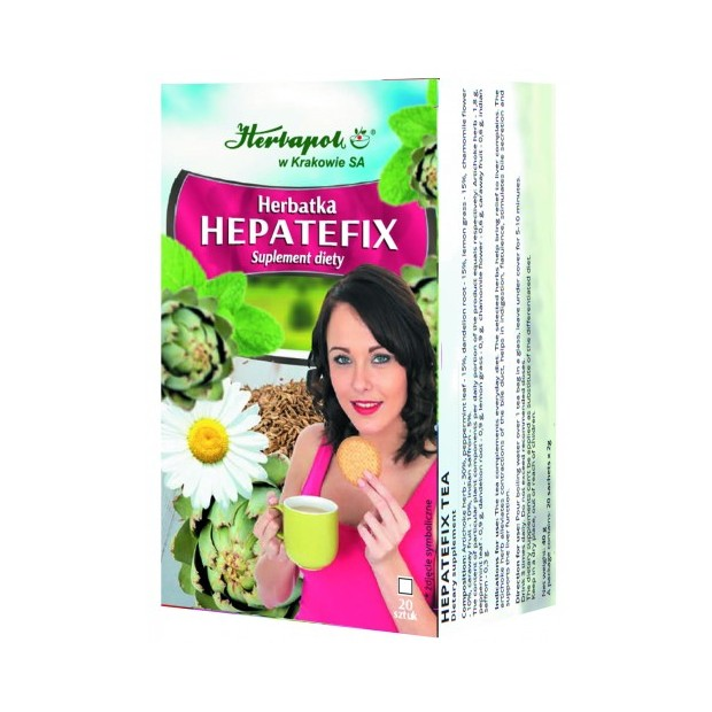 Herb. hepatefix 2g*20szt. HERBAPOL