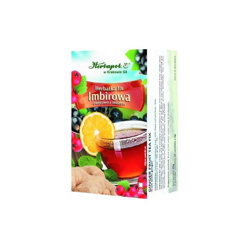 Herb. imbirowa fix 3g*20szt. HERBAPOL
