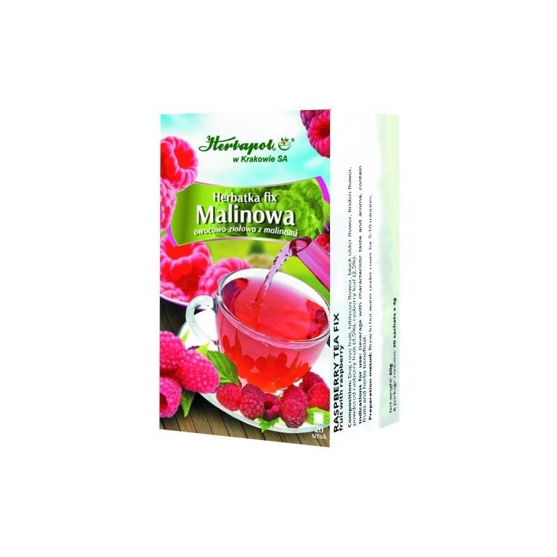 Herb. malinowa fix 3g*20szt. HERBAPOL