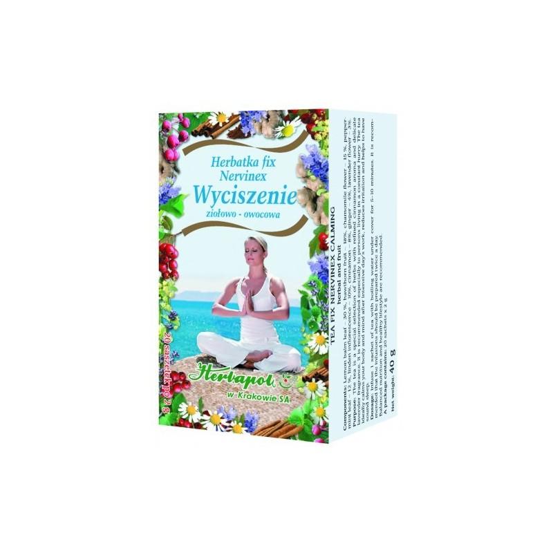 Herb. nervinex wyciszenie fix 2g*20szt. HERBAPOL