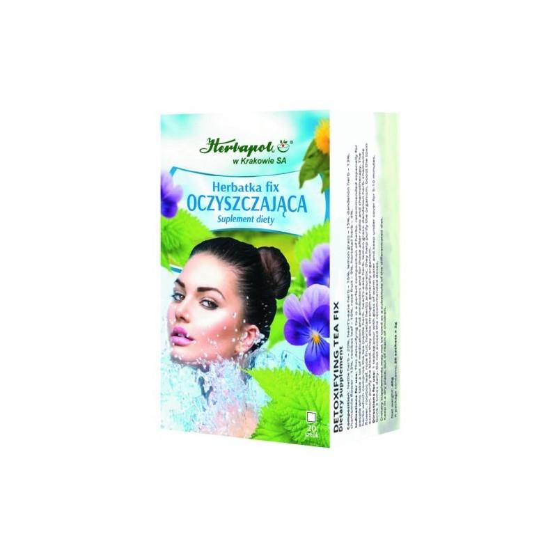Herb. oczyszczająca fix 2g*20szt. HERBAPOL