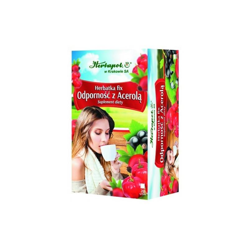 Herb. odporność z acerolą fix 2g*20szt. HERBAPOL
