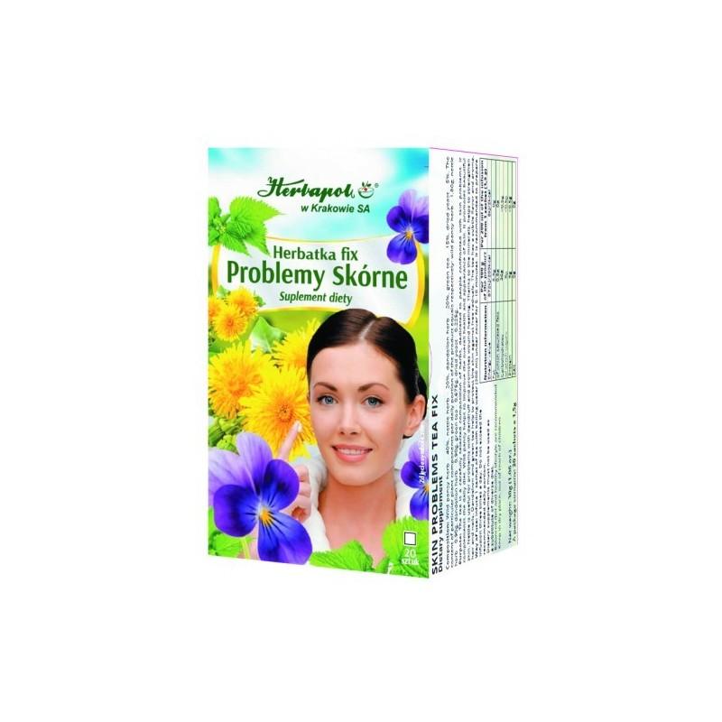 Herb. problemy skórne fix 1,5*20szt. HERBAPOL