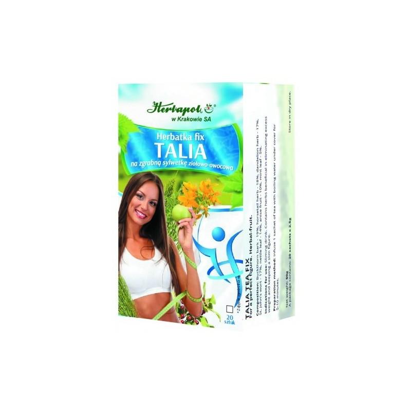 Herb talia zgrabna sylwetka fix 2,5g*20szt. HERBAPOL