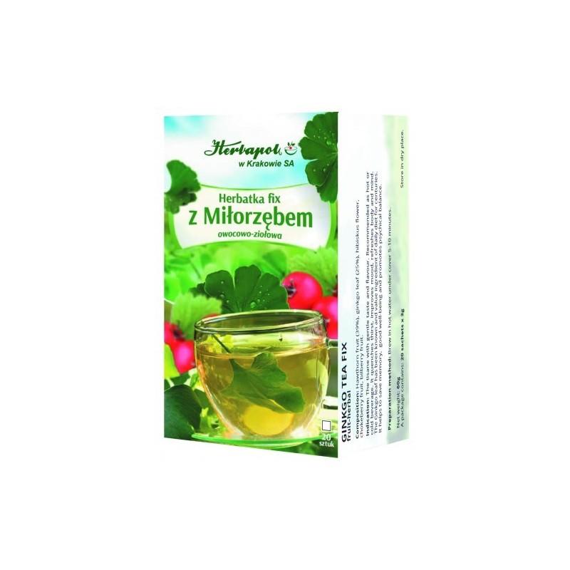 Herb. z miłorzębem fix 3g*20szt. HERBAPOL