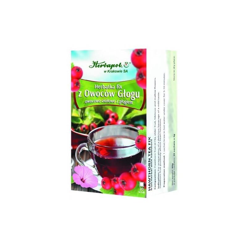 Herb. z owocu głogu 3g*20szt. HERBAPOL