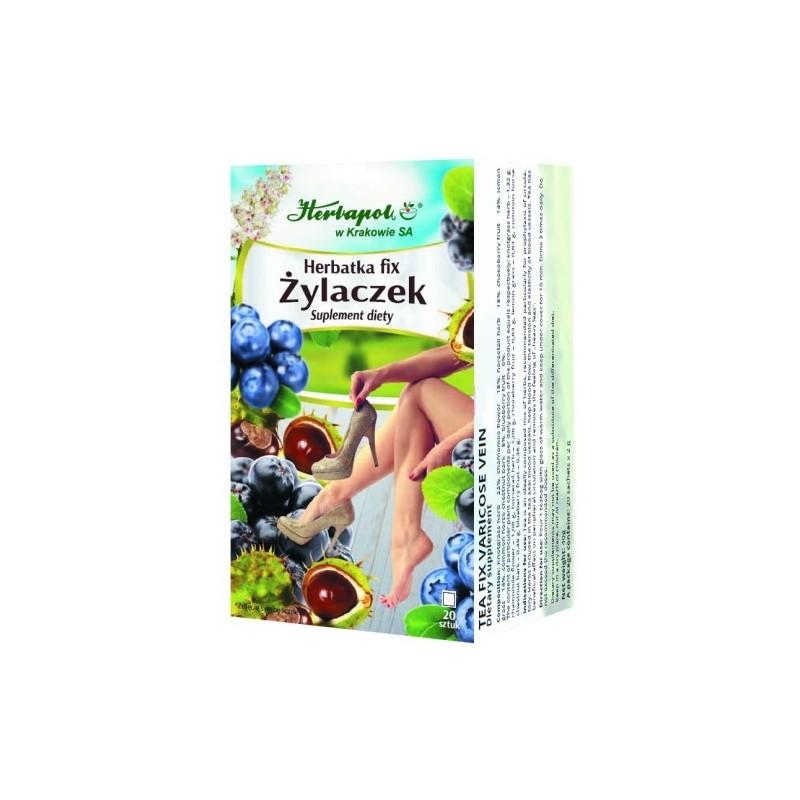 Herb. żylaczek fix 2g*20szt. HERBAPOL