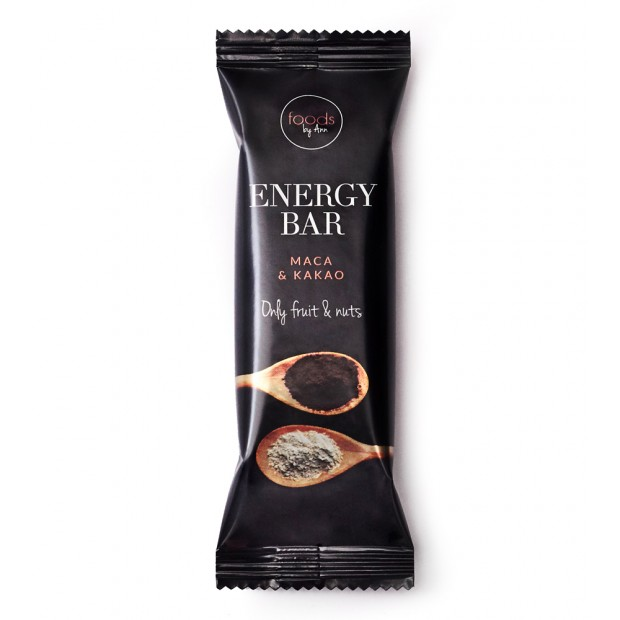 ENERGY BAR maca & kakao FOODS BY ANN
