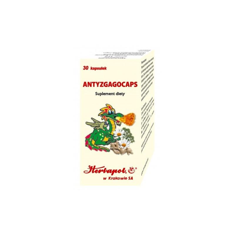 Antyzgagocaps 30 kaps. HERBAPOL