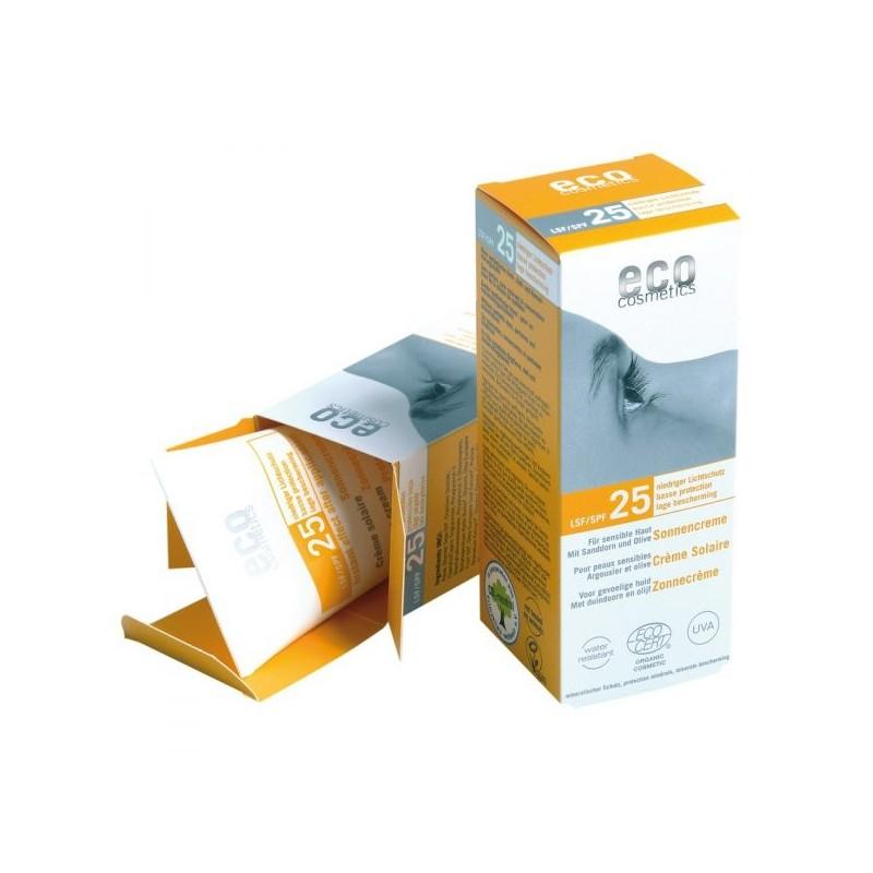 SPF 30 tonowany krem na słońce eko 75ml ECO COSMETICS