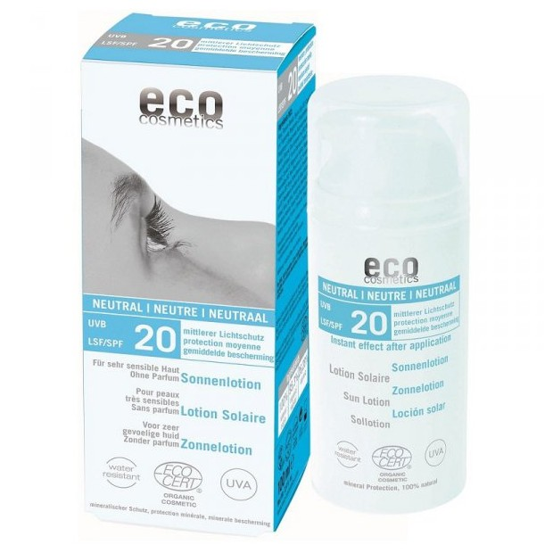 SPF 20 emulsja na słońce 100ml ECO COSMETICS