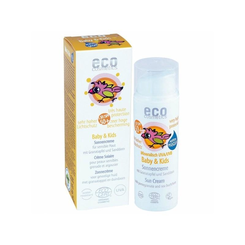 SPF 50+ krem na słońce dla dzieci i niemowląt eko 50 ml ECO COSMETICS