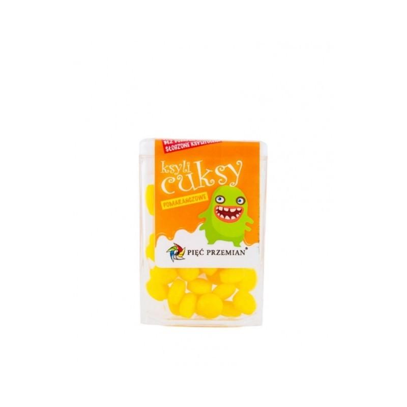 Cuksy pomarańczowe z ksylitolem PIĘĆ PRZEMIAN