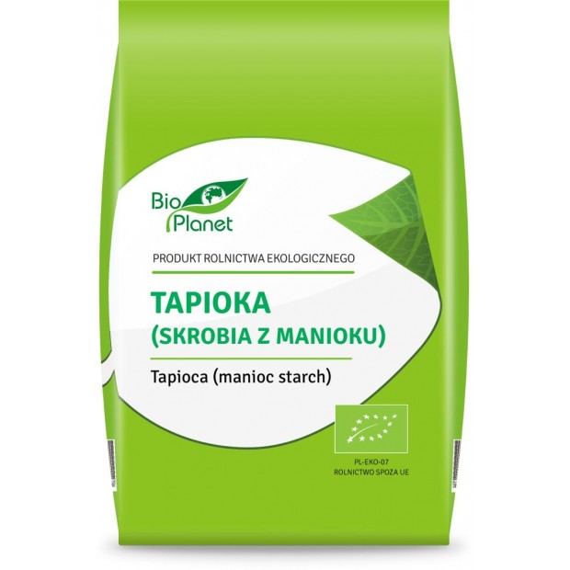 Tapioka (skrobia z manioku) bio 400 g BIO PLANET