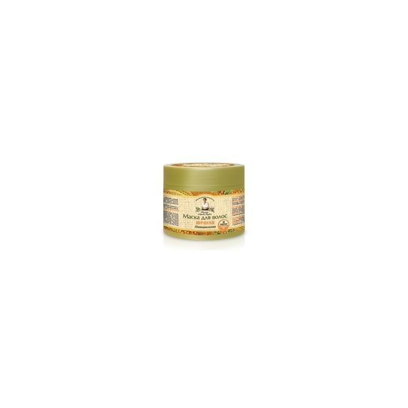 Maska do włosów jajeczna - odżywcza (bez peg i parabenów) 300 ml AGAFI