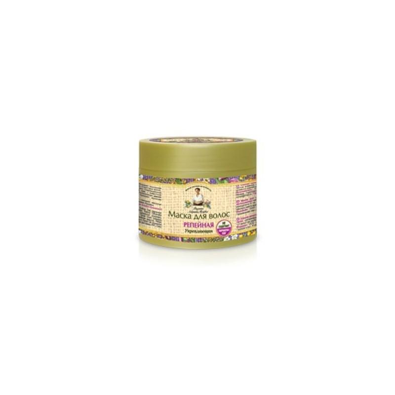 Maska do włosów łopianowa - wzmacniająca 300 ml AGAFI