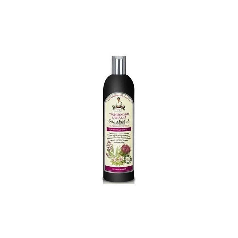 Balsam no 3 przeciw wypadaniu włosów 550ml AGAFI