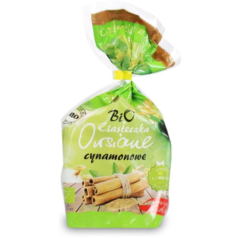 Ciasteczka owsiane cynamonowe bez cukru bio 150g ANIA BIO