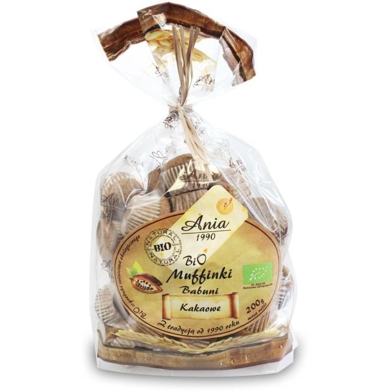 Muffinki kakaowe 200 g BIO ANIA