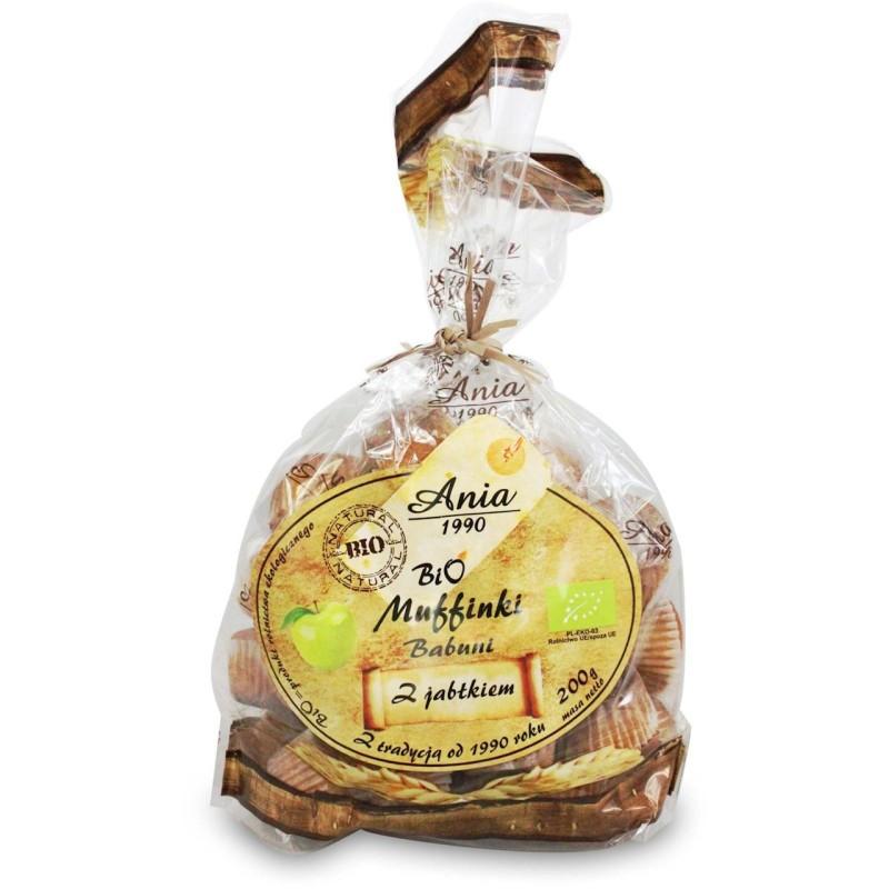 Muffinki babuni z jabłkiem bio 200g BIO ANIA