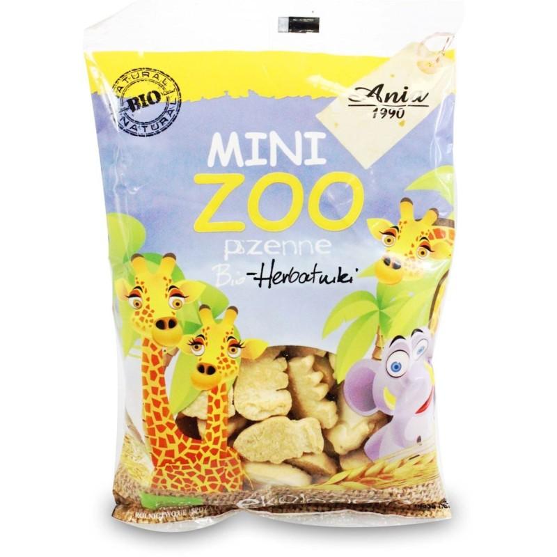 Ciasteczka (herbatniki) mini zoo 100g BIO ANIA