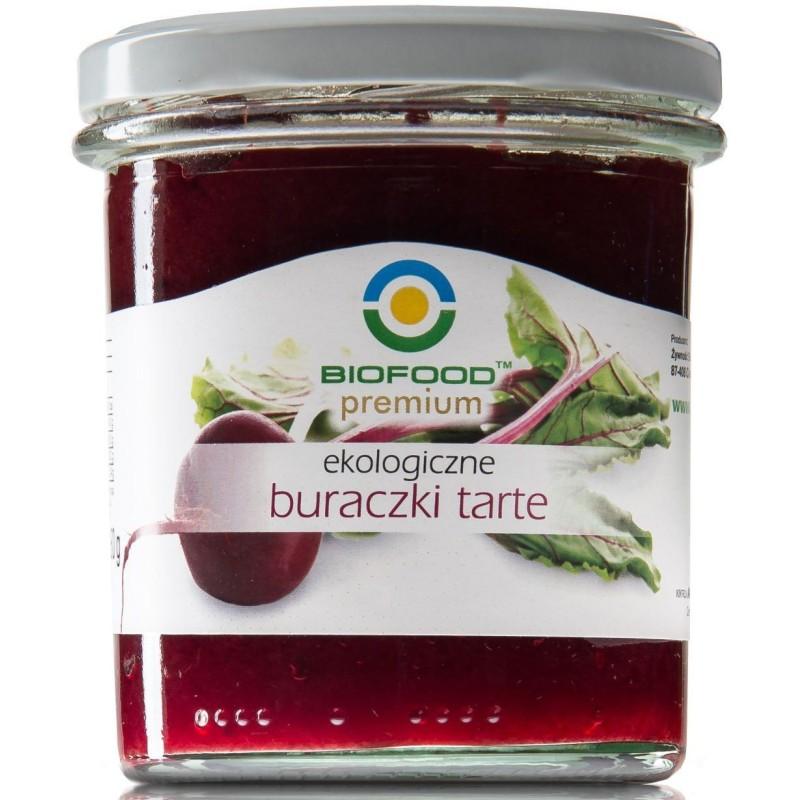 Buraczki tarte bio 280g BIOFOOD