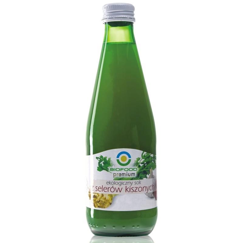 Sok z selera kwaszonego bez cukru bio 300ml BIOFOOD